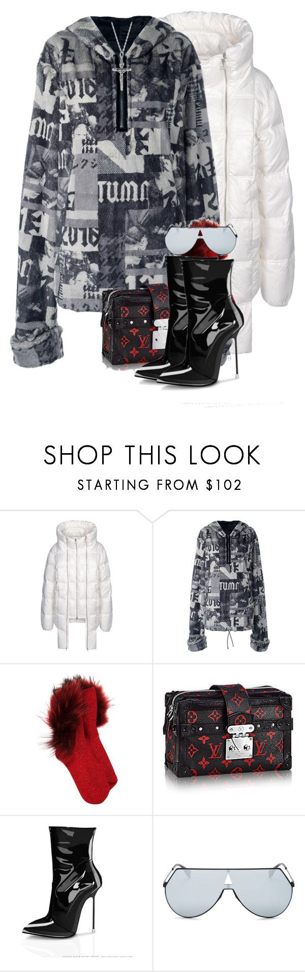 """Untitled #1211"" by jetadorejas ❤ liked on Polyvore featuring Hood by Air, Puma, G.V.G.V. and Fendi"