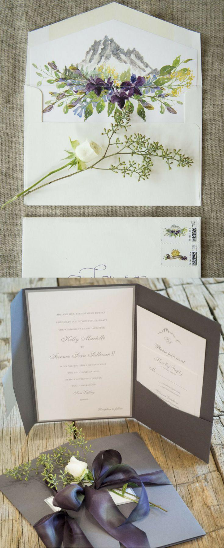 Best Fuchsia Wedding Invitation Suites Ideas On Pinterest