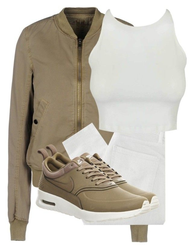 """Untitled #2785"" by xirix ❤ liked on Polyvore featuring DRKSHDW, Nobody Denim and NIKE"