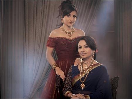 Bollywood Mother-Daughter Duo: Soha Ali Khan and Sharmila Tagore