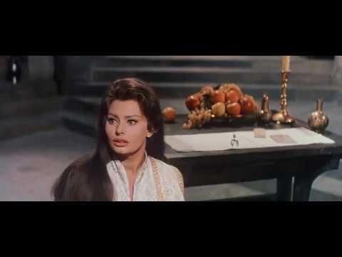 El Cid 1961 Charlton Heston, Sophia Loren & Raf Vallone BR. HD - YouTube