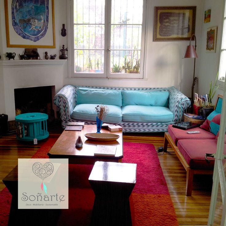 Porta Libros Soñarte elegido por una nueva clienta...fue un placer realizarlo y se ve maravilloso en su sala de estar! <3 www.sonarte.cl