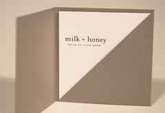 Milk & Honey gift certificate
