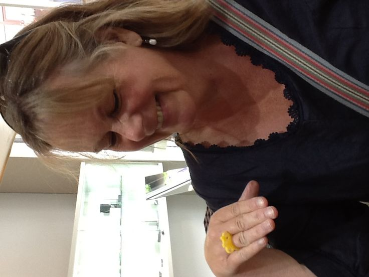 Sharon Baxter with her lovely Le tour ring