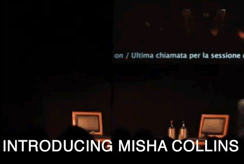 Misha summed up in one GIF