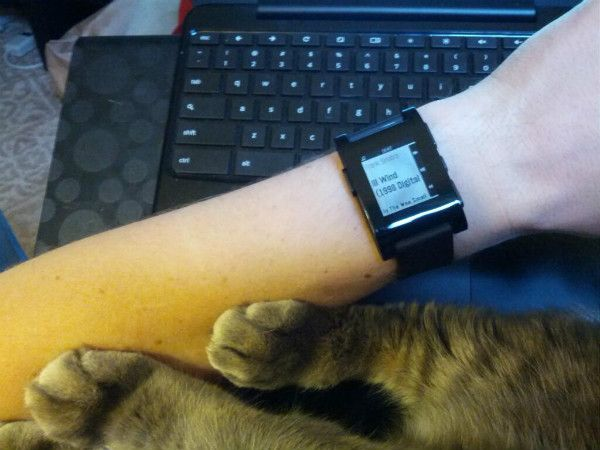 Pebble watch review, part 2: one week of '10-4' (Image credit: ITworld/Kevin Purdy)