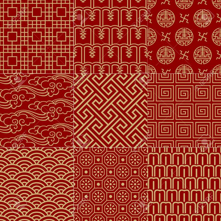 Seamless Traditional Auspicious Chinese Mesh Pattern Royalty Free Cliparts, Vectors, And Stock Illustration. Image 24932228.
