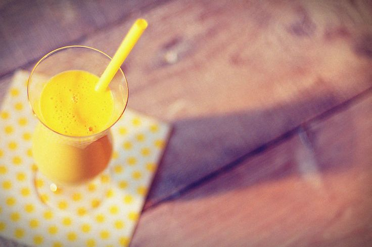 Paas smoothie met mango