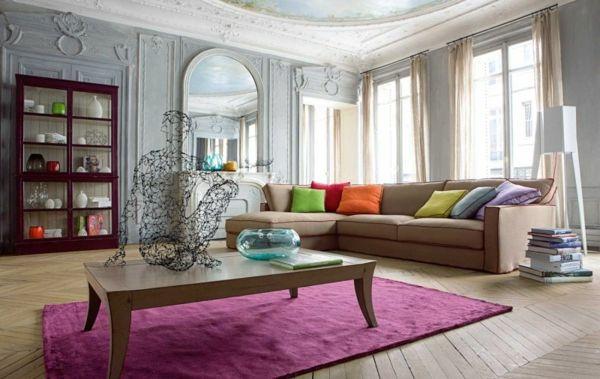 """000 Ideen zu """"Lila Wohnzimmer auf Pinterest Wohnzimmer, Lila ..."""
