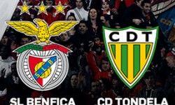 O Benfica ganhou por 4-1 ao Tondela na 26ª jornada do campeonato português, jogo que se realizou no dia 14 de Março de 2016, no estádio da Luz.