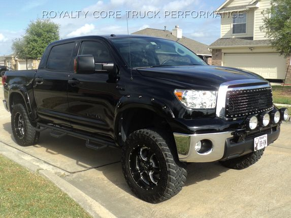 Toyota Tundra 2010-2013 RC1 Main Grille Gloss Black with 5.0 Super Mesh | 2010-2013