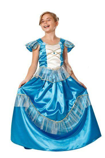 Blauwe prinsessenjurk #prinses #prinsessenjurk