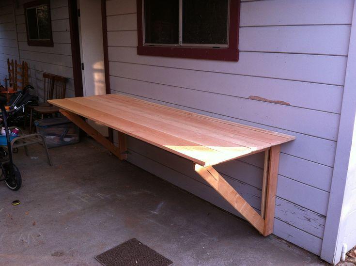 Best 20 folding table legs ideas on pinterest kids for Flip top picnic table plans
