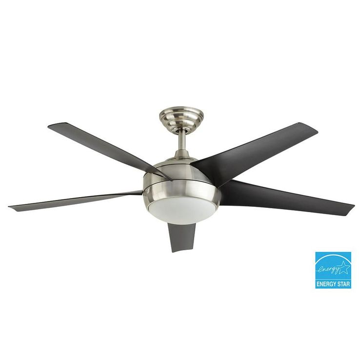 1000 Ideas About Brushed Nickel Ceiling Fan On Pinterest Ceiling Fans With Lights Fan With