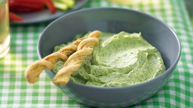 Creamy basil dip recipe - 9Kitchen