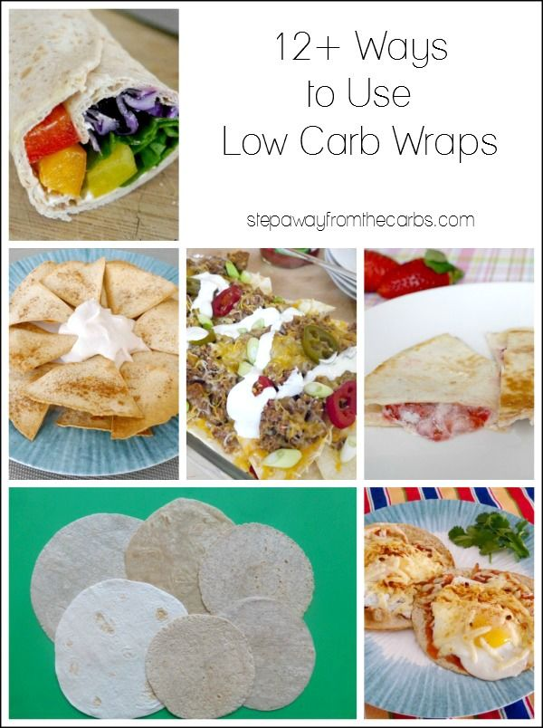 12+ Ways to Use Low Carb Wraps and Tortillas
