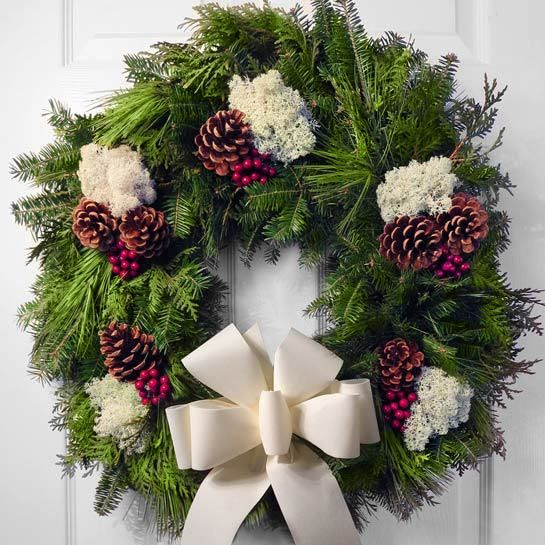 Best images about our fresh christmas wreaths holiday