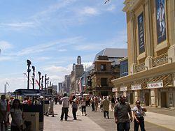 Atlantic City boardwalk stroll