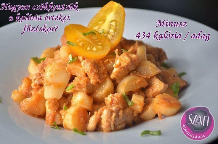 Kalória csökkentett hamis paprikás krumpli paszternákból (light paleo ebéd recept) ~ Éhezésmentes Karcsúság Szafival
