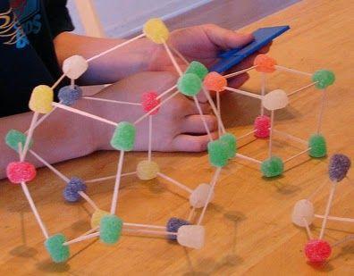 Actividades para Educación Infantil: Dulce experimento tridimensional