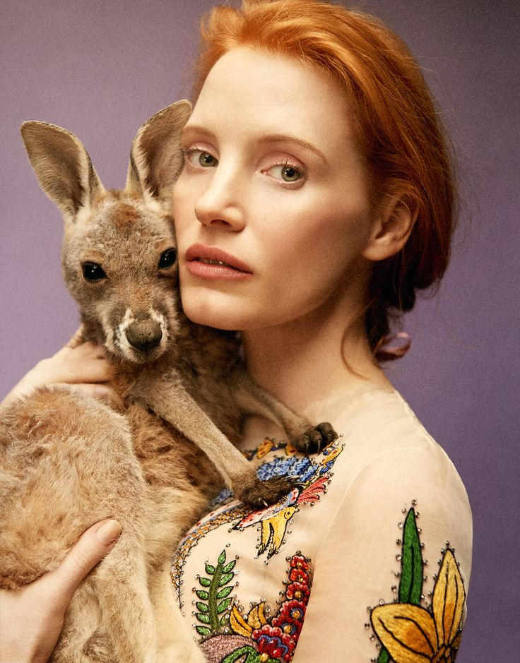 Jessica Chastain by Ryan McGinley for Porter Magazine Spring 2016