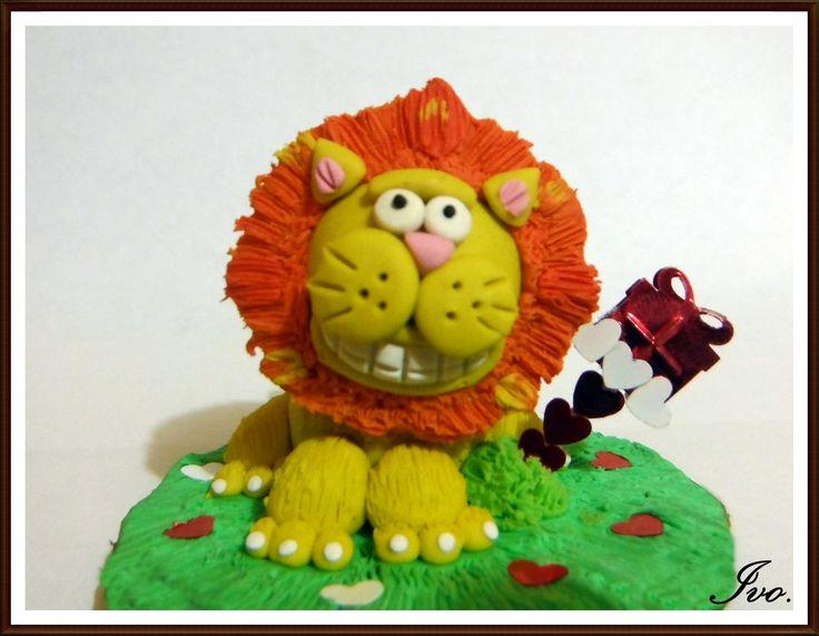León plastilina