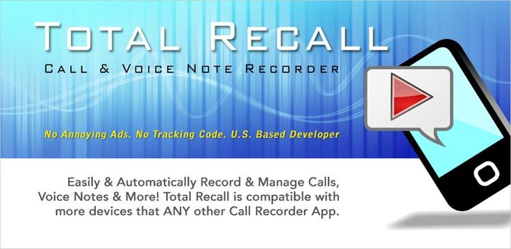 This Total Recall app, as mentioned, is launched by developers of the US and they are constantly endeavoring on improving its functionality and working. Once you get this android call recorder app installed, you will be authorized to receive its frequent updates.