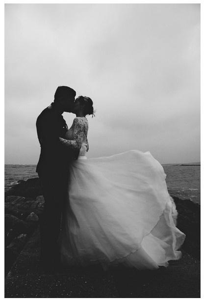 Black and white. Follow us on Instagram @ bridemagazine #wedding #inspiration #weddingideas