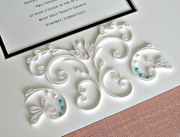 Днем, открытка с квиллингом на свадьбу своими руками