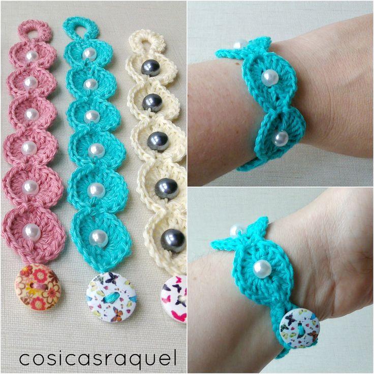 cosicasraquel: Pulseras de Crochet