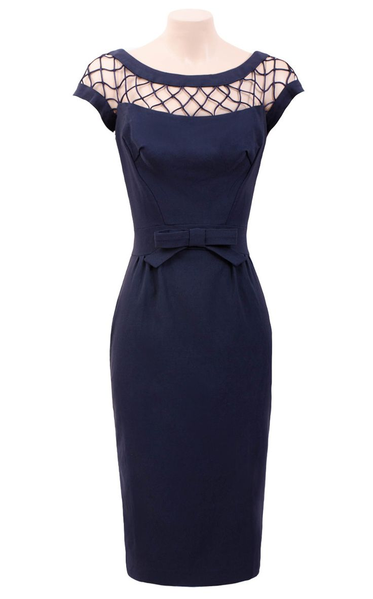 Pretty Dress Clothing Store - Alika Pencil Dress - Navy (http://www.prettydress.com.au/alika-pencil-dress-navy/)