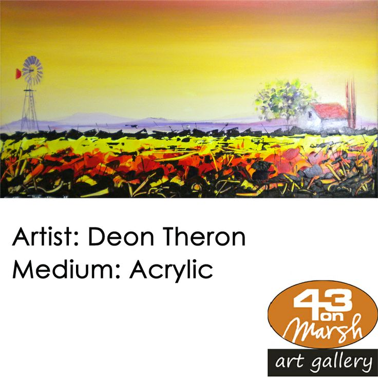 Acrylic by Deon Theron Contact 43 on Marsh #ArtGallery should you be interested in a work: 083 390 8000 #art #artist