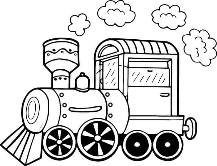 Train Car Coloring Pages Cars Coloring Pages Coloring Pages Santa Coloring Pages