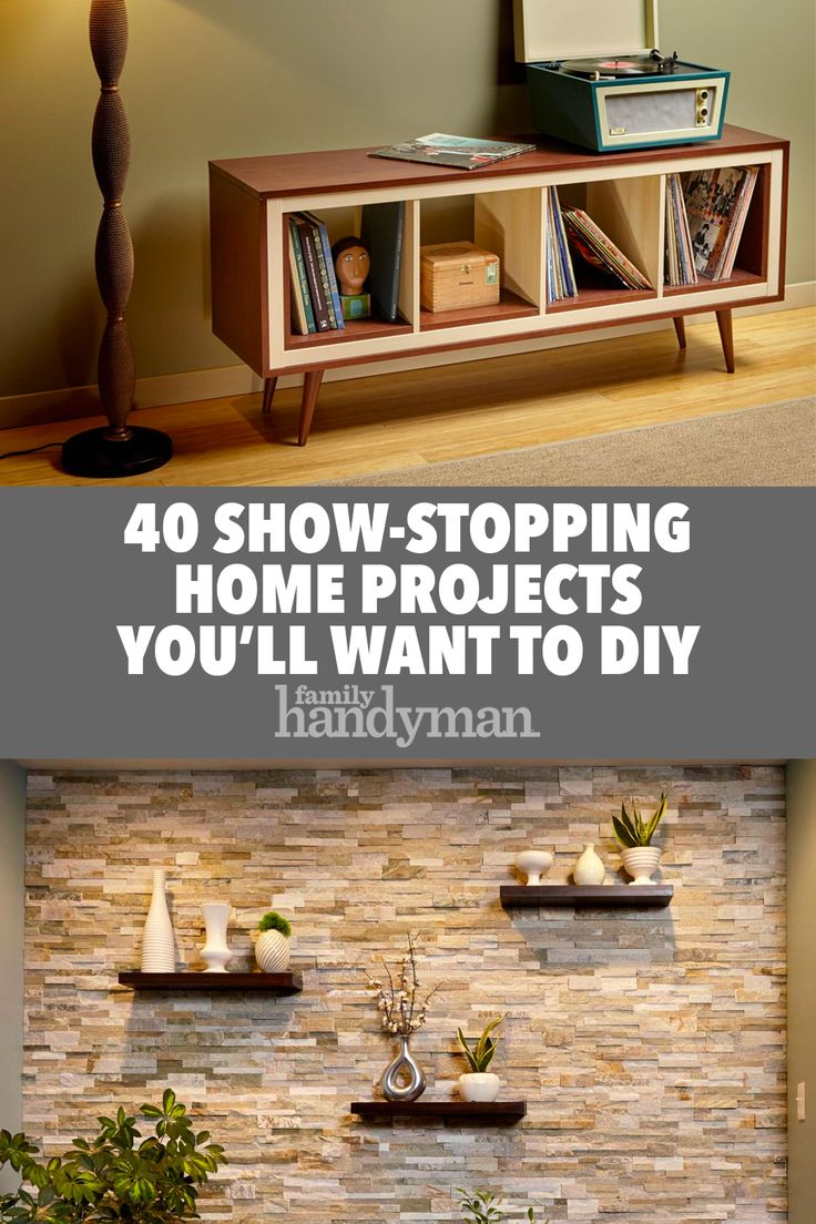 40 Show-Stopping Home Projects You'll Want to DIY