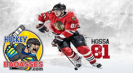 Concussed Blackhawks Player Skates Again - Hockey Badasses #hockey #injuries #nhl #Chicago_Blackhawks