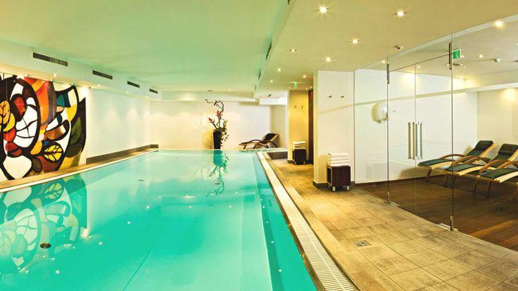 JULY 25 #Hallenbad im Hotel Innsbruck/#Indoor #pool at the Hotel Innsbruck, Austria