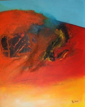 """Saatchi Online Artist Roswitha Schablauer; Painting, """"Hidden Power2"""" #art"""