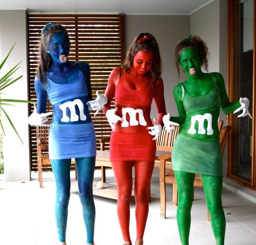 Home made m m costumes chicks homemade couples for M m halloween decorations