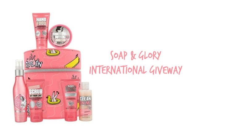 LEMONAID LIES: SOAP & GLORY INTERNATIONAL GIVEAWAY!!