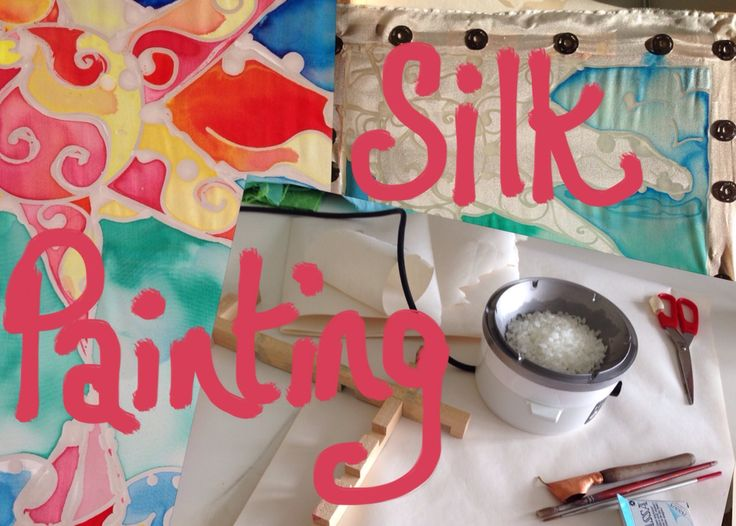 Silk Painting - how to in pictures. #inspirebykim #silk # art
