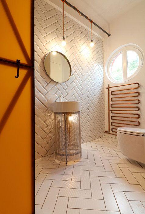 White, cool bathroom