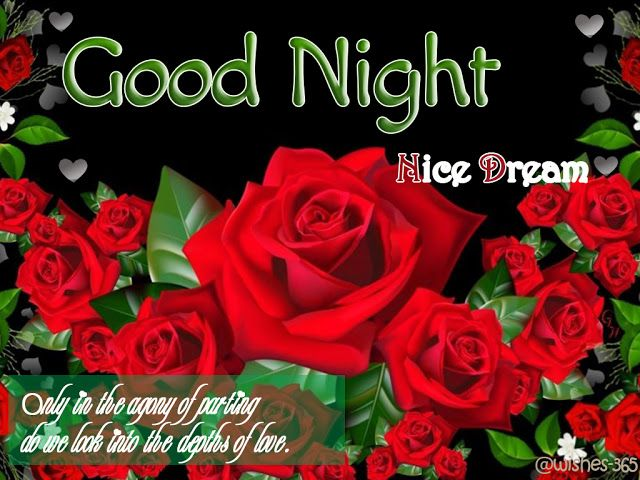Good Night Sweet Dreams Messages with Image