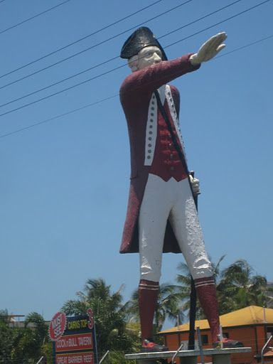 The Big Captain Cook. Cairns North, QLD - It must be surreal to drive around Australia. I LOVE surreal! ----------------------------------------------------------- This brings back memories, I used to love seeing cpt cook statue every time I went to cairns!