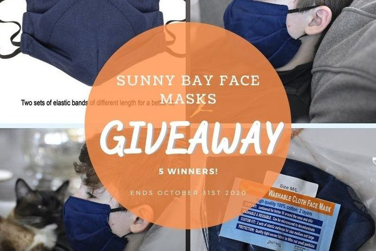 Blogger Opp Sunny Bay Cloth Face Masks Giveaway Bloggerswanted In 2020 Fun Family Activities Social Media Followers Face