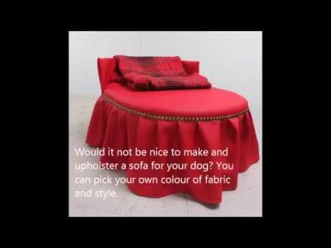 Introduction to the manual How to make and upholster a sofa for your dog - YouTube