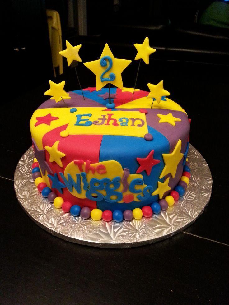 Wiggles birthday cake recipe