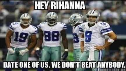 dallas cowboys memes | nfl rihanna rihanna meme sports sports meme leave a comment