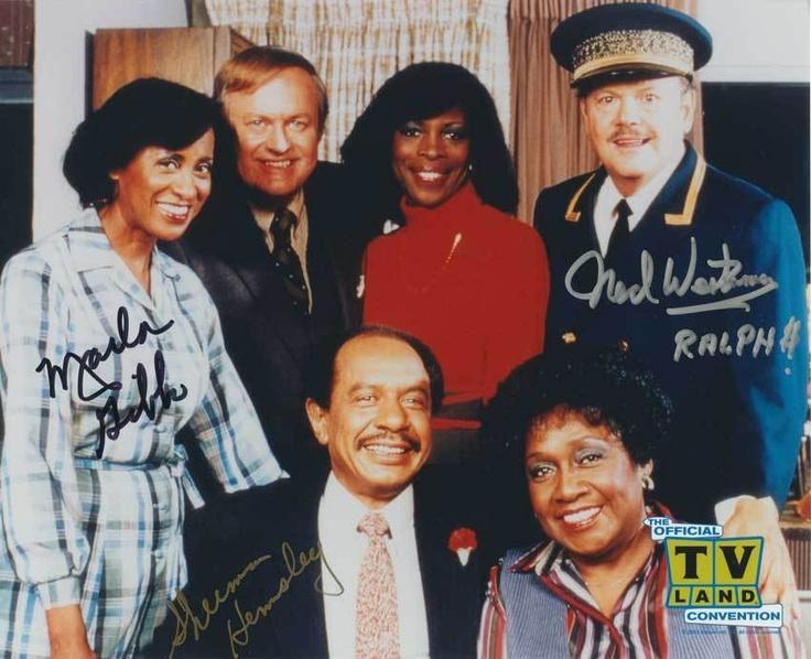 The Jeffersons Sherman Hemsley Cast Autograph Photo | eBay