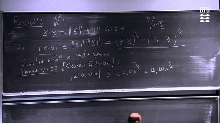 Hilbert Spaces part 1