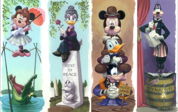 Haunted Mansion 45th Anniversary Limited Edition Prints http://disneyparks.disney.go.com/blog/2014/08/limited-edition-prints-to-celebrate-the-haunted-mansion-45th-anniversary-at-disneyland-park-its-a-meal-to-die-for/